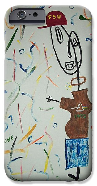 Painter Photo Paintings iPhone Cases - Picasso Jimi iPhone Case by Jimi Bush