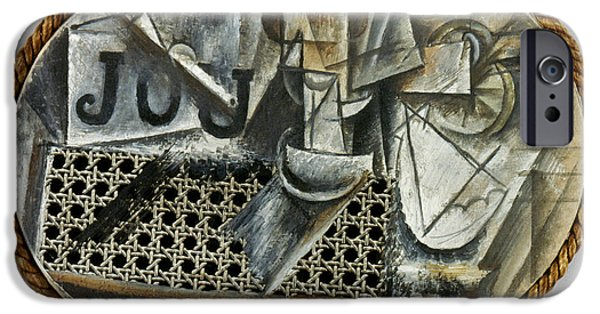 Aod iPhone Cases - Picasso: Still Life, 1912 iPhone Case by Granger