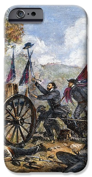 PICKETTS CHARGE, 1863 iPhone Case by Granger