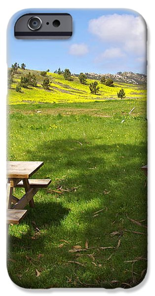 Picnic tables iPhone Case by Carlos Caetano