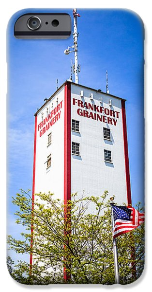 2009 iPhone Cases - Picture of Frankfort Grainery in Frankfort Illinois iPhone Case by Paul Velgos