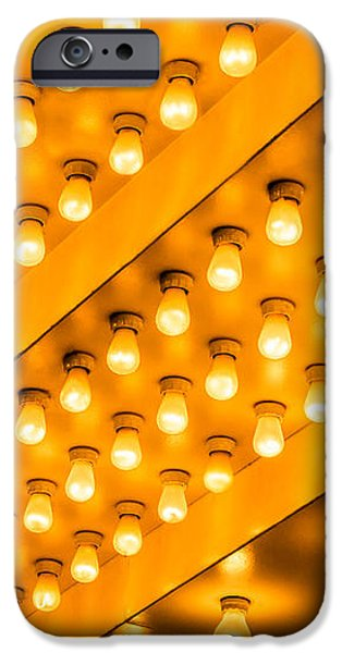 Picture of Theater Lights iPhone Case by Paul Velgos