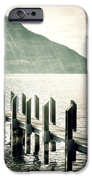 pier iPhone Case by Joana Kruse