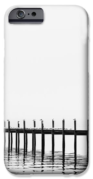 Pier iPhone Case by Skip Nall