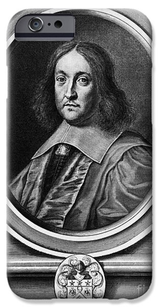 Analytic iPhone Cases - Pierre De Fermat, French Mathematician iPhone Case by Photo Researchers, Inc.