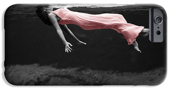 Underwater Photos iPhone Cases - Pink Lady iPhone Case by Andrew Fare