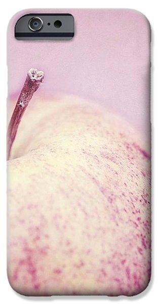 pink lady iPhone Case by Priska Wettstein