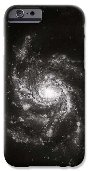 Pinwheel Galaxy, M101 iPhone Case by Science Source