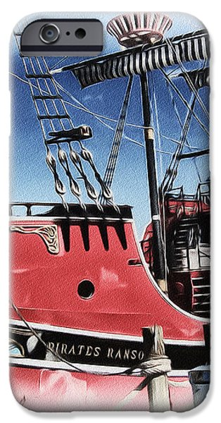 Pirates Ransom - Clearwater Florida iPhone Case by Bill Cannon