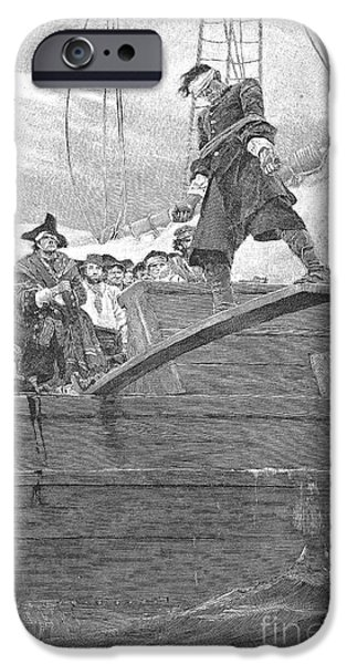 PIRATES: WALKING THE PLANK iPhone Case by Granger