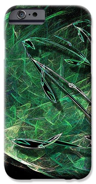 Pisces iPhone Case by Viktor Savchenko