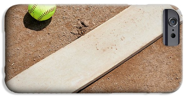 Softball iPhone Cases - Pitchers Mound iPhone Case by Kelley King