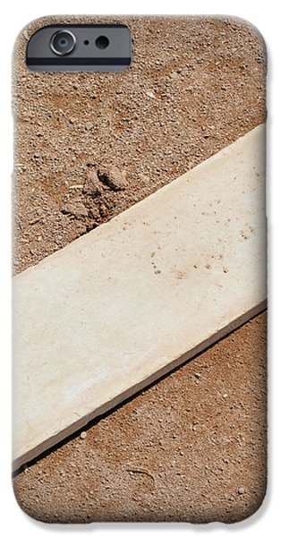Pitchers Mound iPhone Case by Kelley King