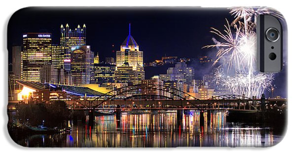 Steelers iPhone Cases - Pittsburgh 1  iPhone Case by Emmanuel Panagiotakis