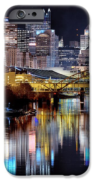 Pittsburgh 2 iPhone Case by Emmanuel Panagiotakis