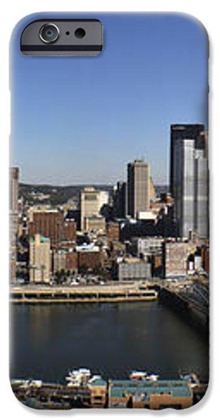 Pittsburgh Panoramic iPhone Case by Teresa Mucha