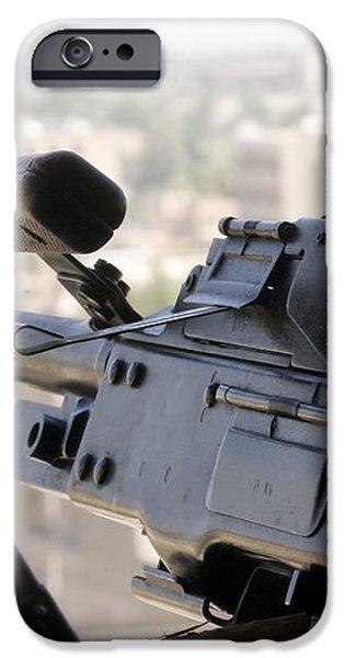 Pkm 7.62 Machine Gun Nest On Top iPhone Case by Terry Moore