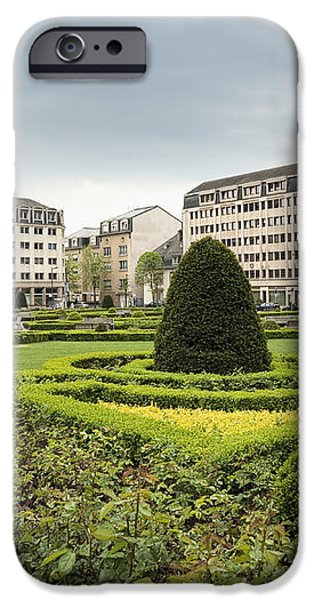 Place des Martyrs, Luxembourg City, Luxembourg, Europe iPhone Case by Jon Boyes