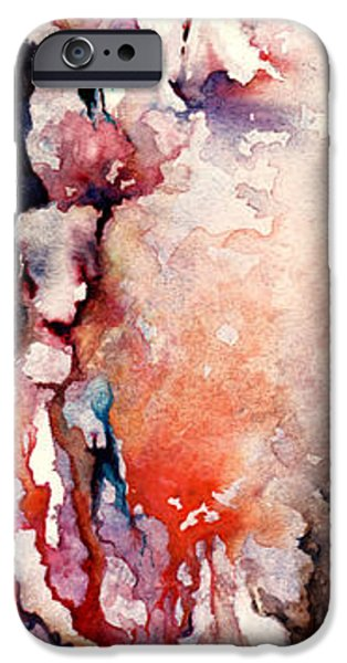 Sadness Paintings iPhone Cases - Places in the Heart iPhone Case by Rachel Christine Nowicki