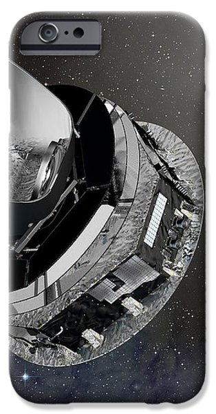 Planck Space Observatory, Artwork iPhone Case by David Ducros