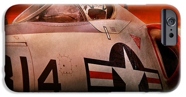 Jet Star iPhone Cases - Plane - Pilot - Airforce - Go get em Tiger  iPhone Case by Mike Savad