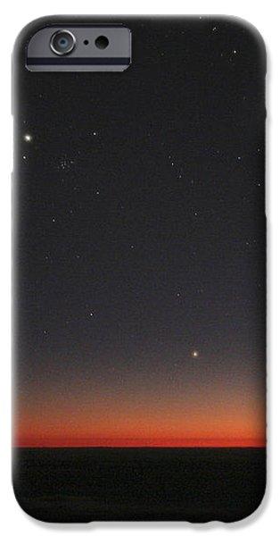 Planetary Conjunction, Optical Image iPhone Case by Eckhard Slawik