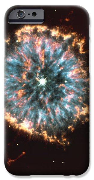Astrophysics iPhone Cases - Planetary Nebula iPhone Case by Nasaesastscihubble Heritage Team