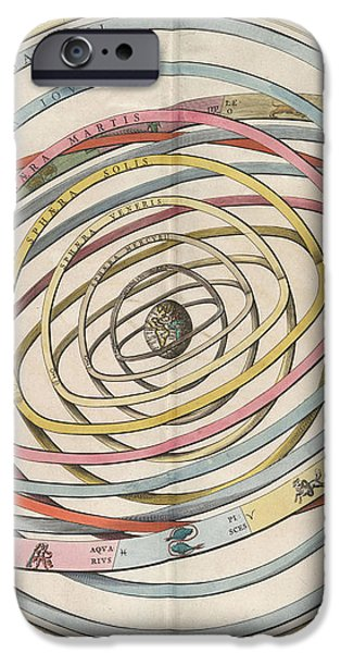 Planetary Orbits Harmonia iPhone Case by Science Source