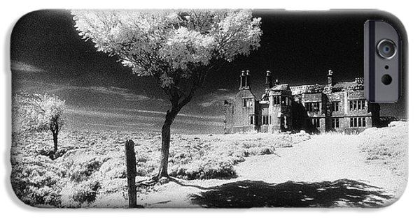 Haunted House iPhone Cases - Plas Pren iPhone Case by Simon Marsden