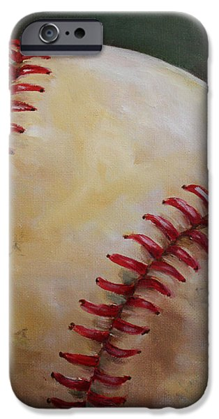 Play Ball No. 2 iPhone Case by Kristine Kainer