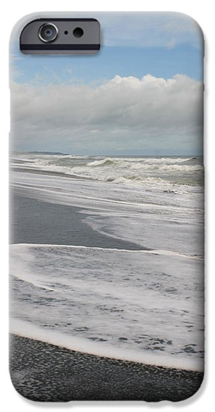 Michelle iPhone Cases - Playa Hermosa Morning iPhone Case by Michelle Wiarda