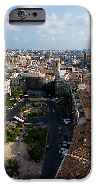 Plaza de la Reina iPhone Case by Fabrizio Troiani