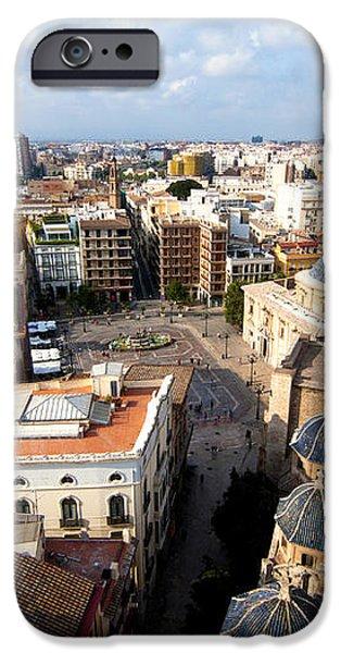 Plaza de la Virgen iPhone Case by Fabrizio Troiani