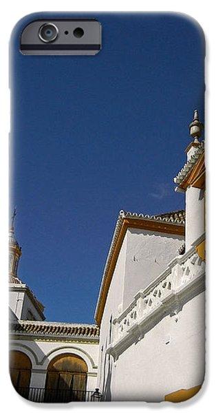 Plaza de Toros de la Real Maestranza - Seville iPhone Case by Juergen Weiss