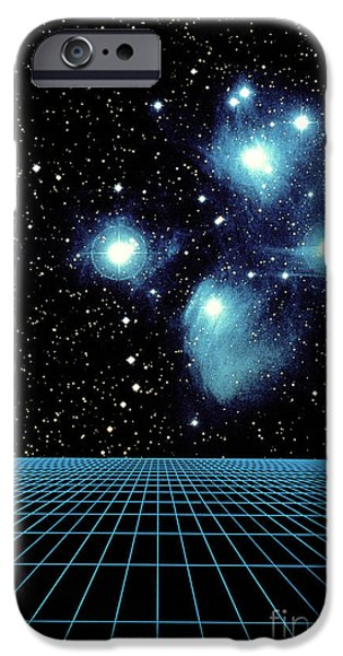 Pleiades In Taurus iPhone Case by Science Source