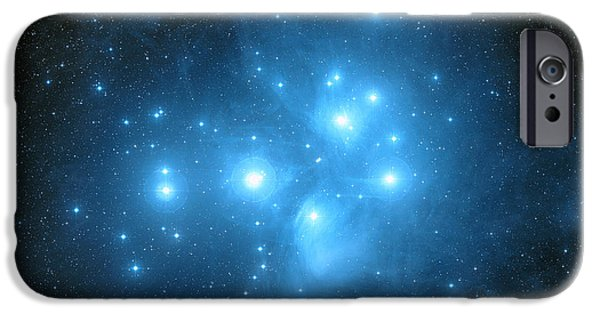 Recently Sold -  - Stellar iPhone Cases - Pleiades Star Cluster iPhone Case by Davide De Martin