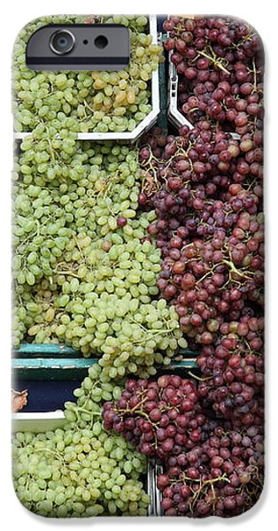 Pluots Grapes and Tomatoes - 5D17903 iPhone Case by Wingsdomain Art and Photography
