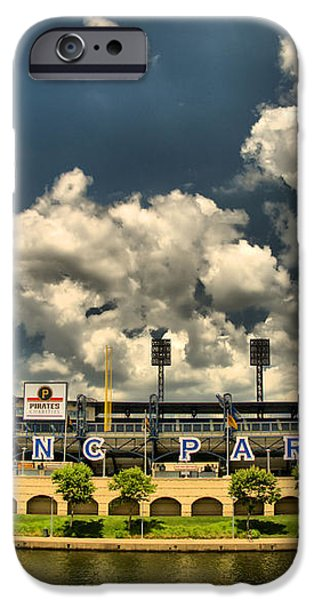PNC Park iPhone Case by Arthur Herold Jr