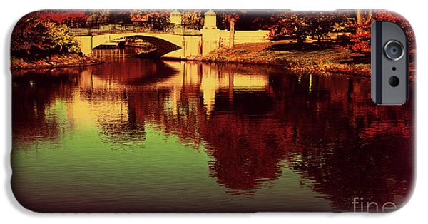 Charles River iPhone Cases - Pocket of the City iPhone Case by Dana DiPasquale