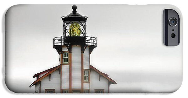 Lightstations iPhone Cases - Point Cabrillo Light Station - Mendocino CA iPhone Case by Christine Till