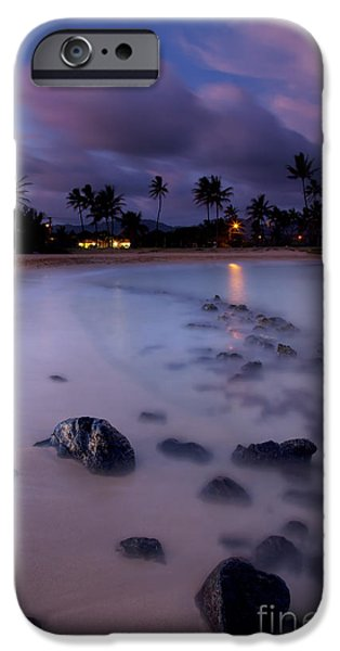 Poipu Evening Storm iPhone Case by Mike  Dawson
