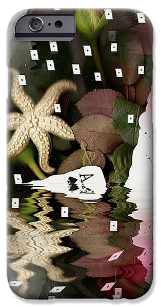 poker pop art all in iPhone Case by Pepita Selles