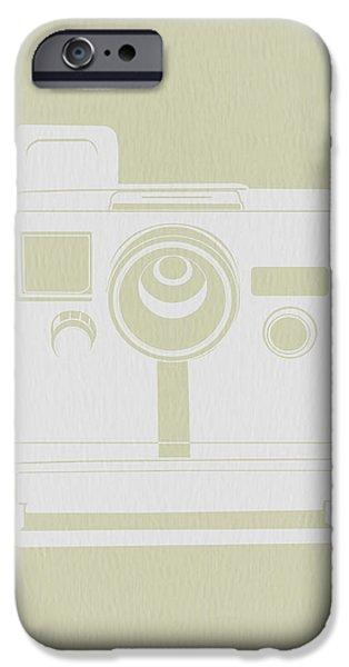 Polaroid Camera 3 iPhone Case by Naxart Studio