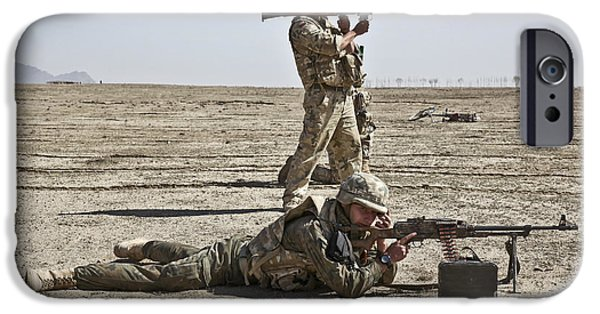 Rpg iPhone Cases - Polish Soldiers Prepare To Fire iPhone Case by Stocktrek Images