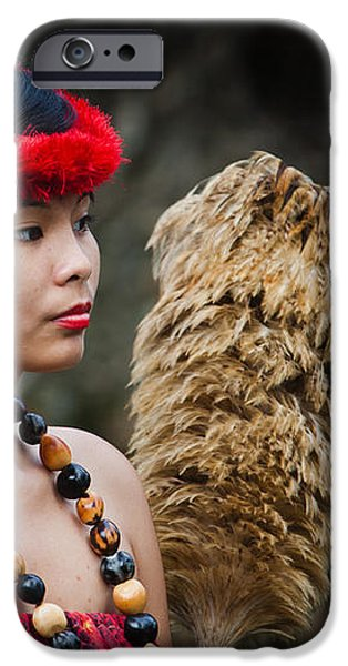 Polynesian Beauty iPhone Case by Ralf Kaiser