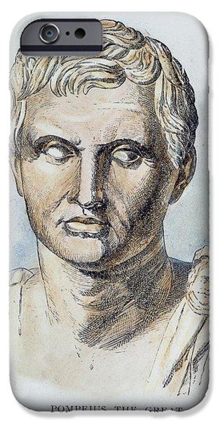 POMPEY (106-48 B.C.) iPhone Case by Granger
