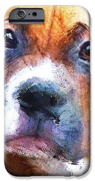 Pooch iPhone Case by Robert Smith