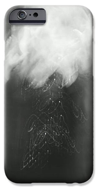 Poof - bw iPhone Case by Aimelle