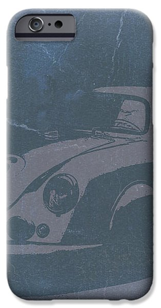 PORSCHE 356 COUPE FRONT iPhone Case by Naxart Studio