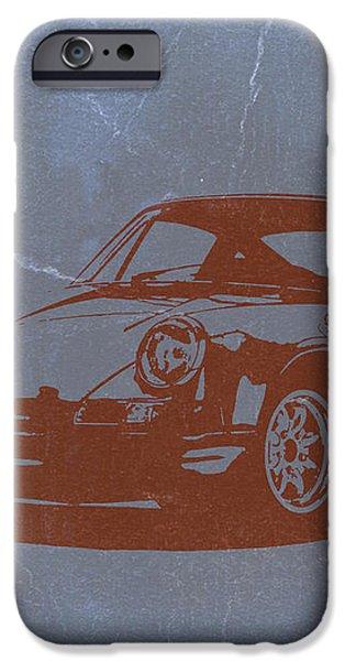 Porsche 911 iPhone Case by Naxart Studio